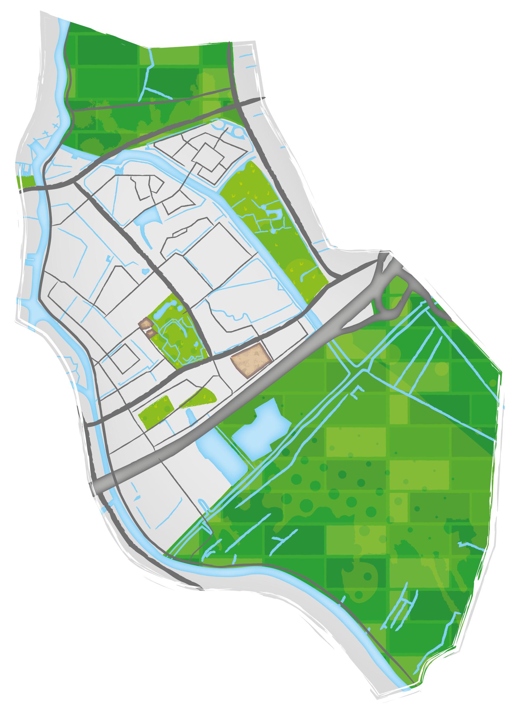 MEC Leiderdorp plattegrond